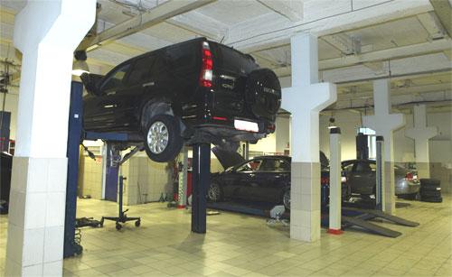 Центр ремонта Honda