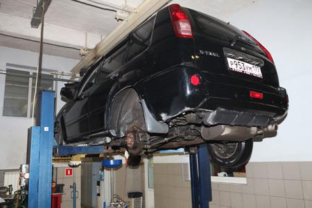 Ремонт подвески Nissan X-Trail